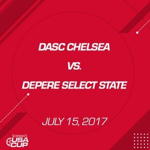 Girls U13 - July 15, 2017 - DASC Chelsea V. De Pere Select State