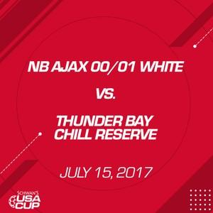 Girls U17 - July 15, 2017 - NB Ajax 00/01 White V. Thunder Bay Chill Reserve