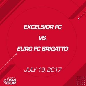 Girls U19 Silver - July 19, 2017 - Excelsior FC vs Euro FC Brigatto