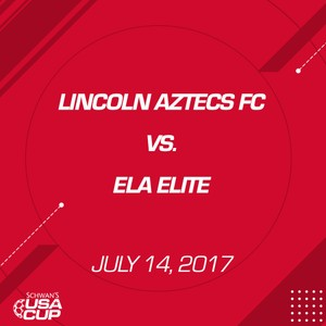 Boys U17 - July 14, 2017 - Lincoln Aztecs vs Ela Elite