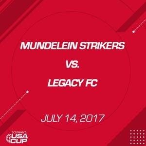 Boys U17 - July 14, 2017 - Mundelein Strikers vs Legacy FC