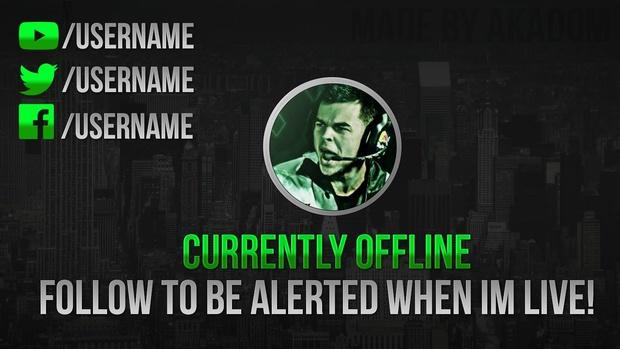Twitch Offline Image Dom