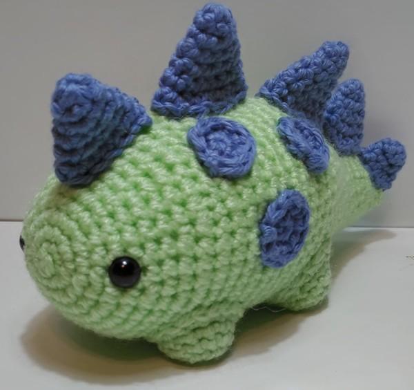 READY TO SHIP: Chubby Dinosaur