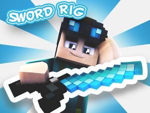 Minecraft Cinema 4D Sword Rig v1 by GradeFX