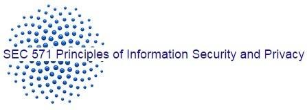 SEC 571 Week 1 Quiz Solutions