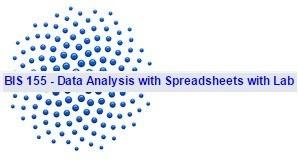 BIS 155 Week 3 Data Analysis Functions - Quiz