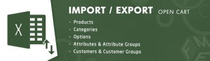 Opencart Import Export Products Extension
