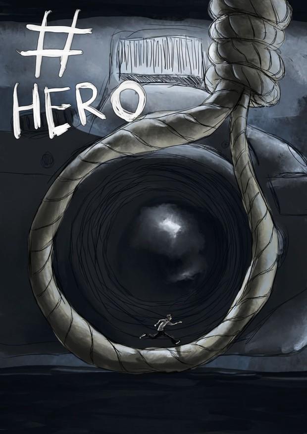 #Hero Comic Book