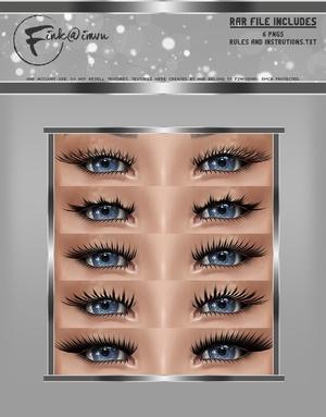 Eyelash Opacities for Kloudust Heads