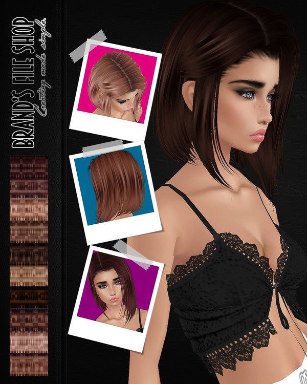 Brown Hair Textures (With Resell)