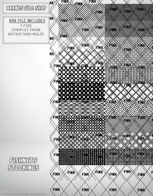 20 Fishnet/Stockings Opacities