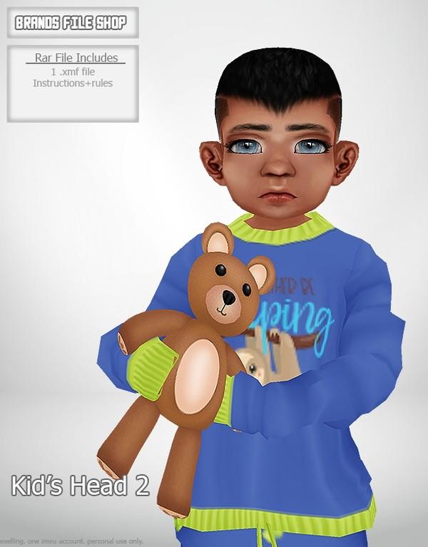 Kid's Head 2
