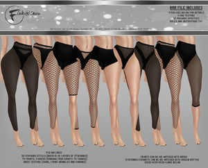 Bottoms with Stockings Generator