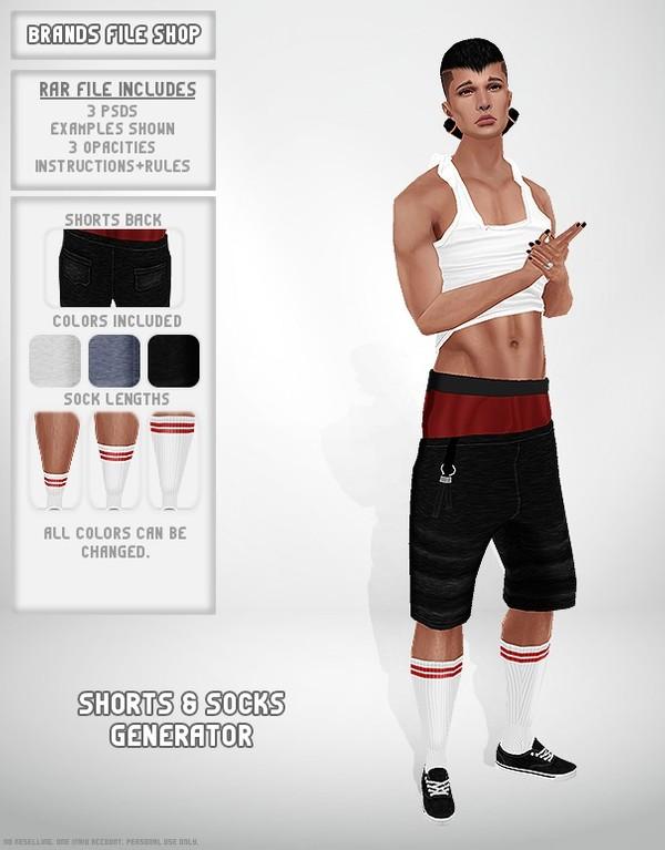 Shorts and Socks Generator