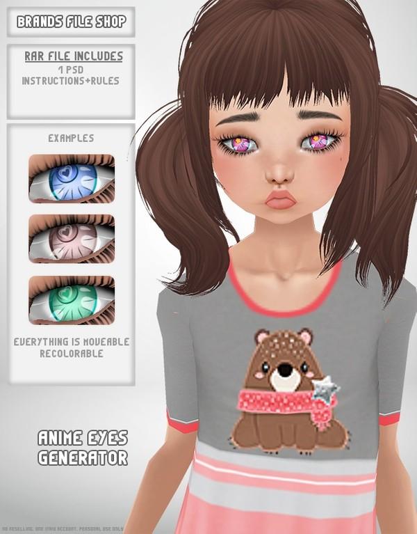 Anime Eye Generator