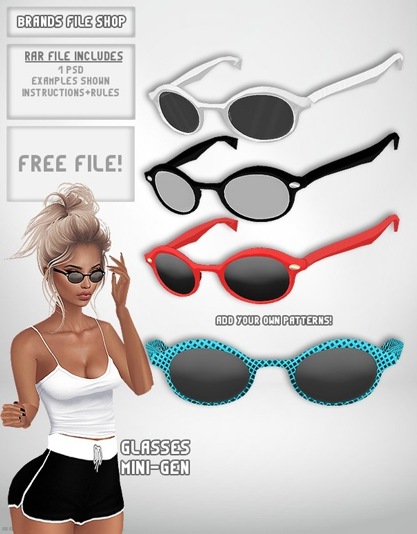 Free Glasses Mini-Gen