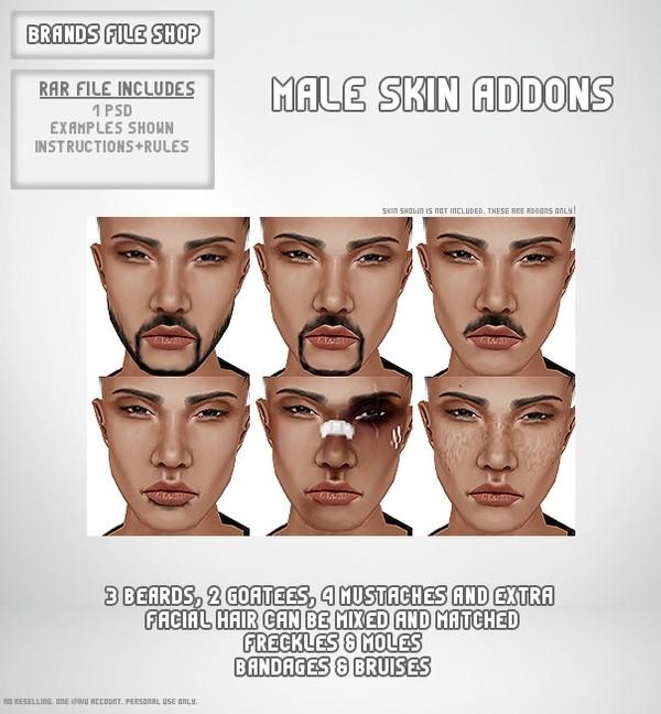 Male Skin Addon Gen