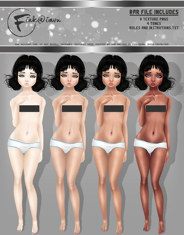 Kid Girl Skin / Andro