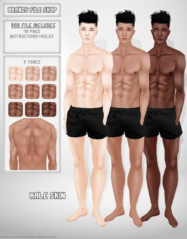 Male Skin