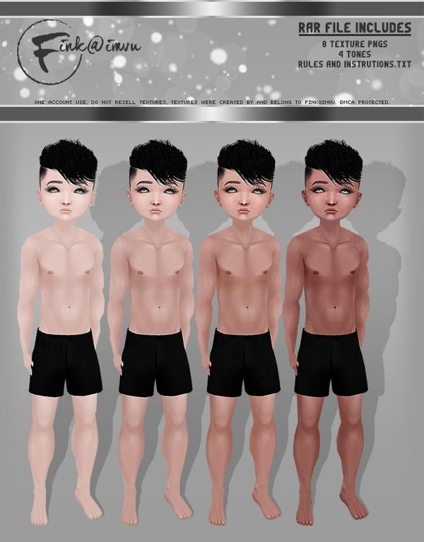 Kid Boy Skin