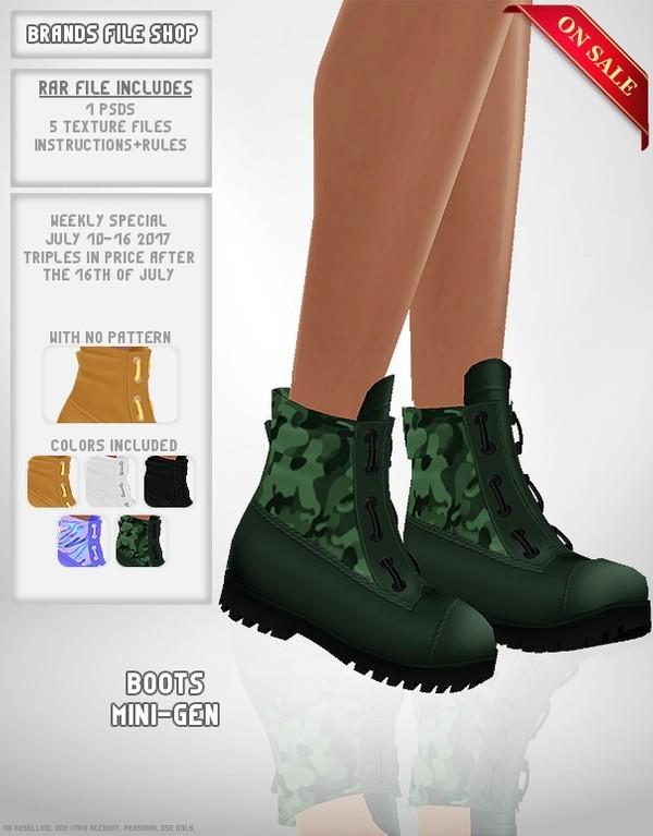 Boots Mini-Gen