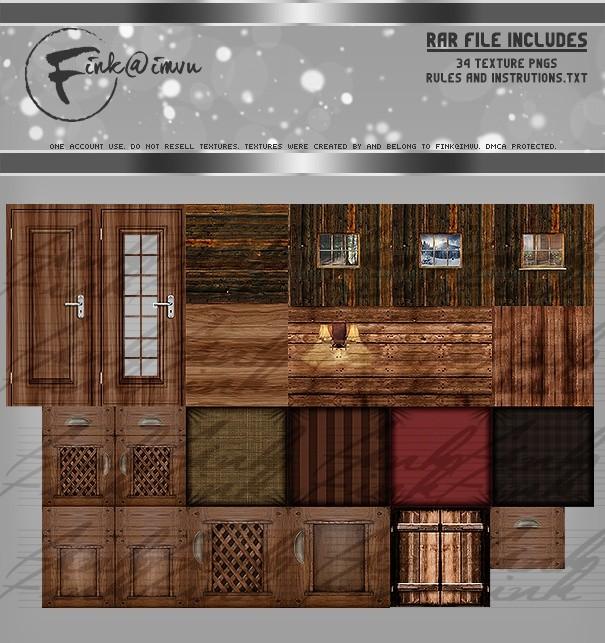 Rustic Room Textures