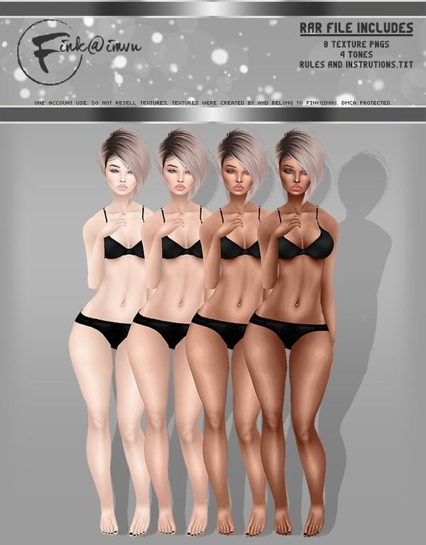 Female Skin Pack