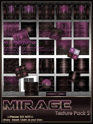 Mirage Texture Pack 2-- $6.00