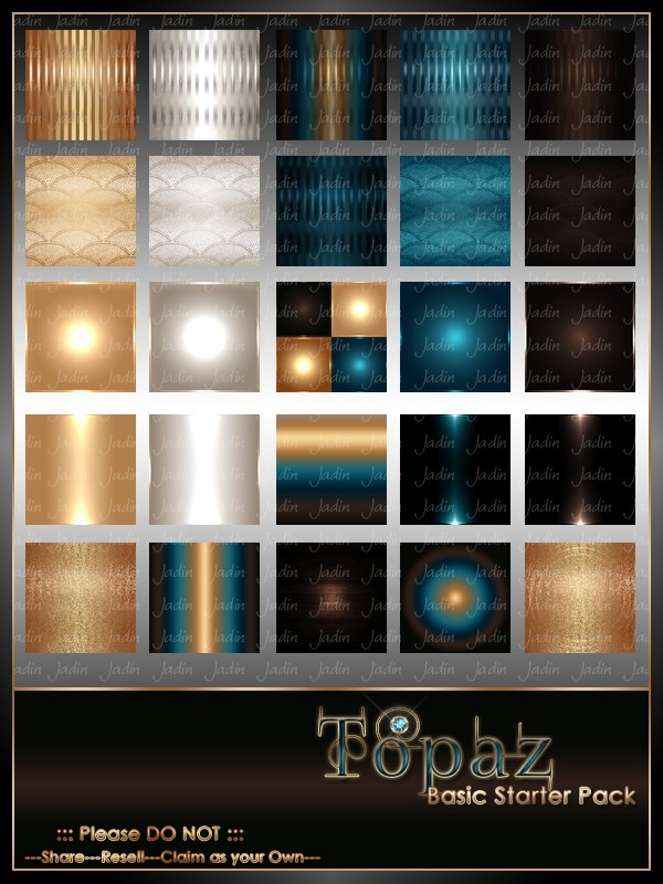Topaz Basic Texture Pack-- $2.00