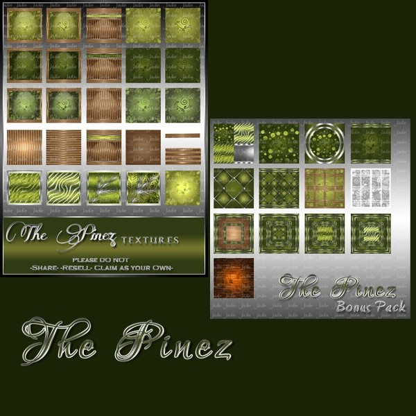 The Pinez Texture Pack-- $3.00