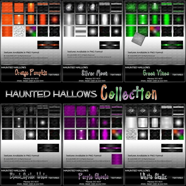 Haunted Hallows Texture Pack Collection-- $10.00