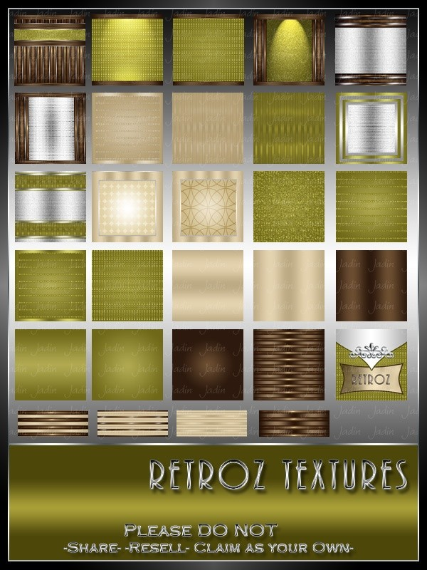 Retroz Texture Pack --- $3.00