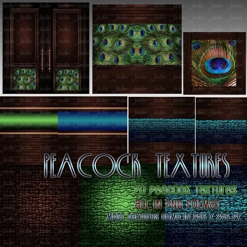 Peacock Pack -- $2.00