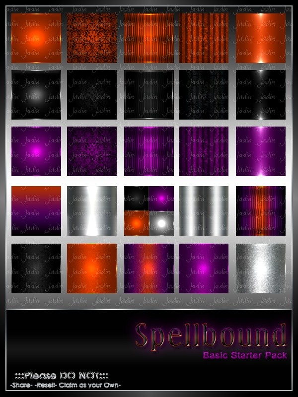 Spellbound BASIC Texture Pack-- $2.00
