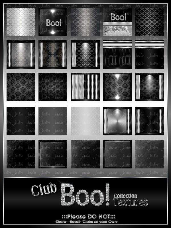Club BOO Texture Pack-- $7.00