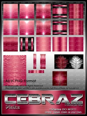 Cebraz Pinkz Texture Pack -- $2.00