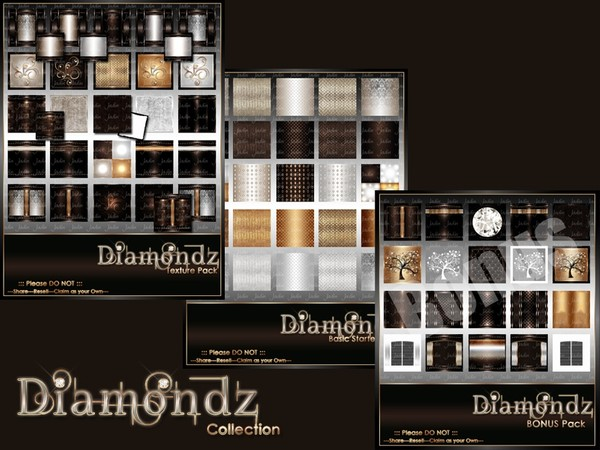 Diamondz Texture Pack Collection-- $15.00