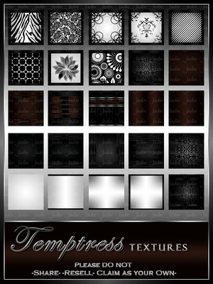 Temptress Texture Pack --- $3.00