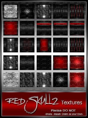 Skullz Red Texture Pack-- $8.00