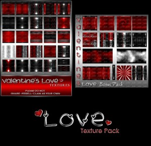 Love Texture Pack + FREE Bonus Pack-- $6.00