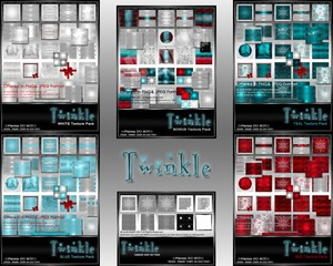 Complete Twinkle Texture Pack Collection-- $20.00