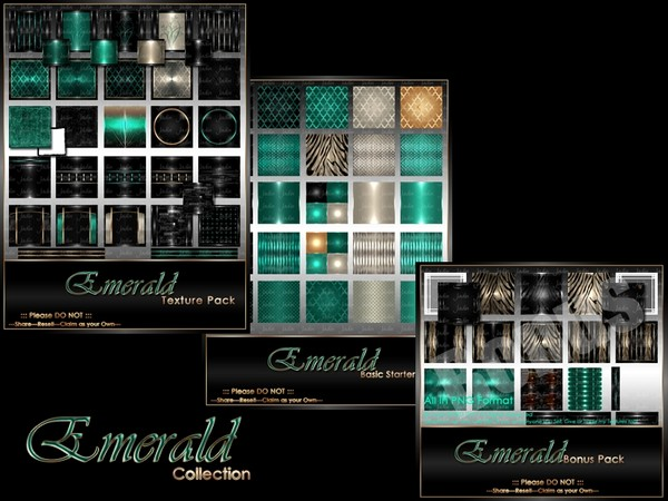 Emerald Birthstone Collection-- $15.00