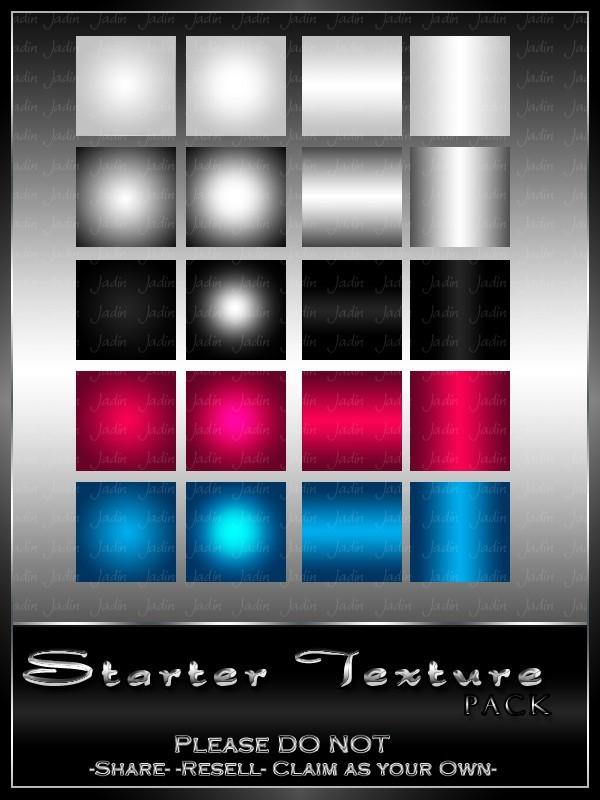 Basic Starter Texture Pack --- $1.00