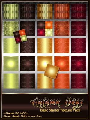 Autumn Dayz BASIC Texture Pack -- $2.00