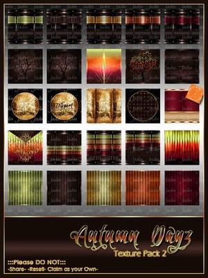 Autumn Dayz Texture Pack 2 -- $10.00