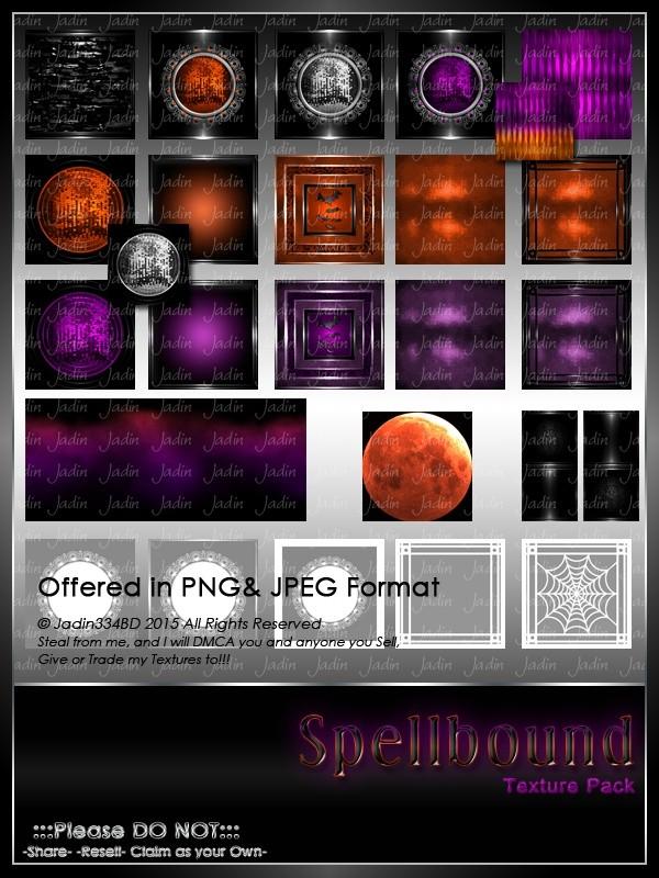 Spellbound Texture Pack-- $13.00