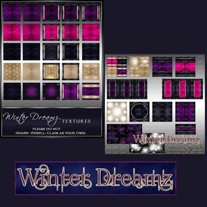 Winter Dreamz Texture Pack-- $3.00