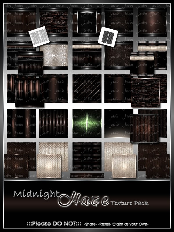 Midnight Haze Texture Pack-- $8.00