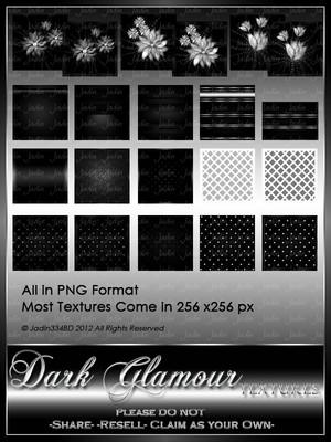 Dark Glamour Texture Pack --- $2.00