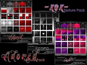 Adored & xox Collection-- $12.00